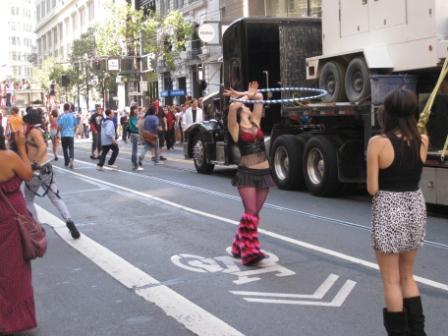 Loveolution Street Performance