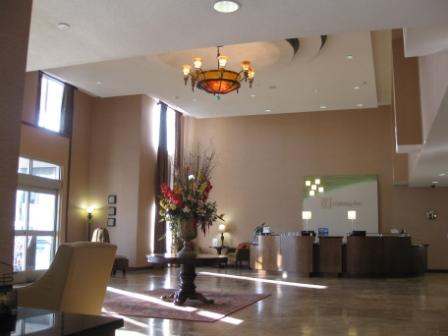 Lobby of Holiday Inn, Henderson, Nevada (Las Vegas suburb)