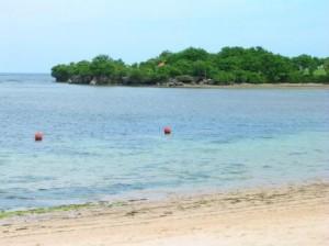 Beach at Nusa Dua, Bali, Indonesia