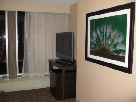Sitting room tv, Sheraton Denver Downtown