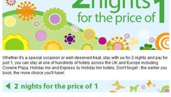 Ihg 2 For 1 Deals In London And Europe Loyalty Traveler