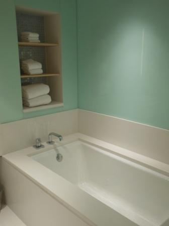 Popular Room bathtub at Radisson Blu Aqua Chicago