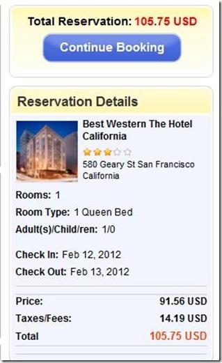 Best Western Hotel Cal EasyClickTravel