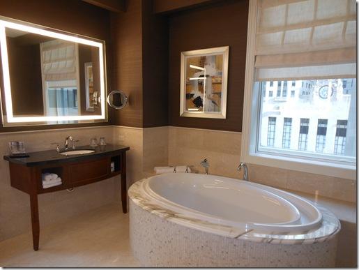 LaSalle Suite infinity tub