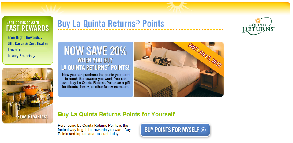La Quinta Corporation coupons offer one of the easiest ways to save during more expensive peak times. La Quinta Corporation promo codes make last-minute weekend getaways, planned summer road trips and holiday gatherings much easier to plan.