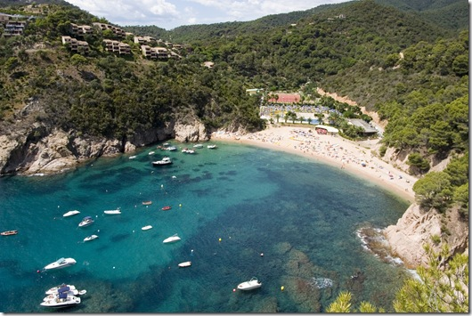 Tossa de Mar_Giverola Beach