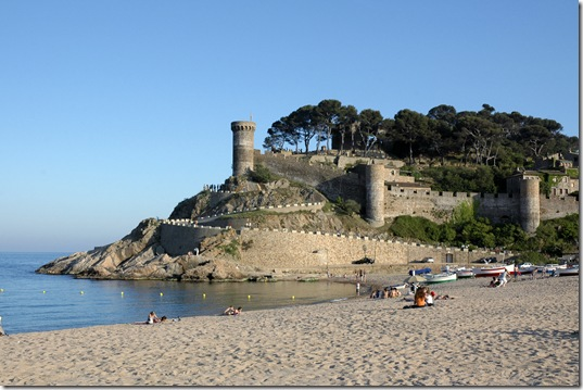 Tossa de Mar_Medieval Walls and Main Beach