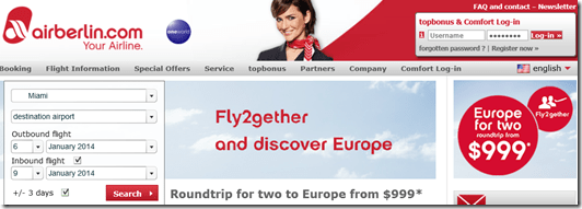 AirBerlin FlyTogether