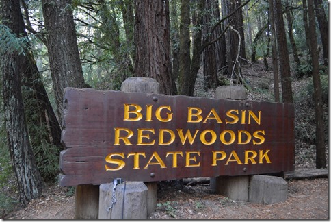 Big Basin sign