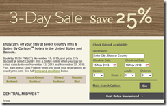 Country Inn3-day sale-11-15