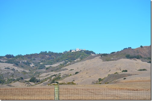 Hearst Castle far away