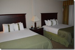 Holiday Inn Santa Maria beds