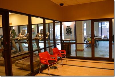 Hilton fitness room
