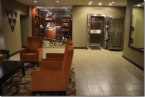Westin Bank wine vault-2
