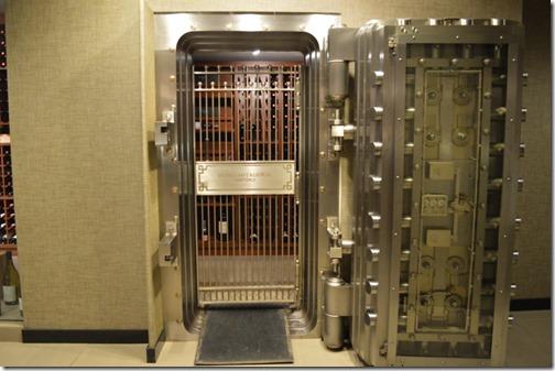Westin Bank wine vault