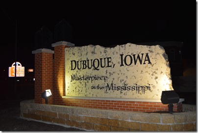 Dubuque sign
