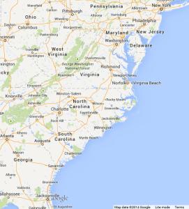 Google Maps Southeast