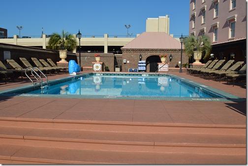 Mills House pool