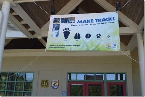 Sewee Make Tracks sign