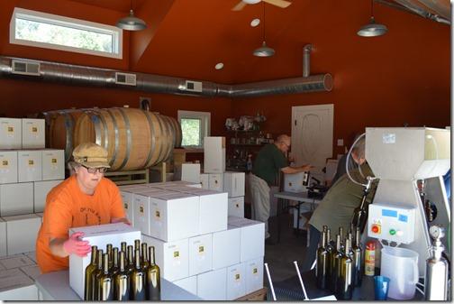 Bottling at Ayrael Vieux
