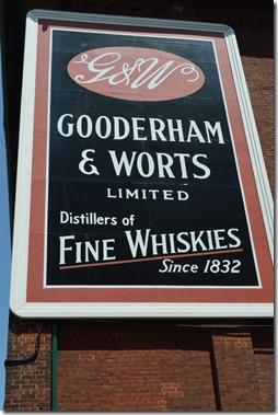 Distillery sign