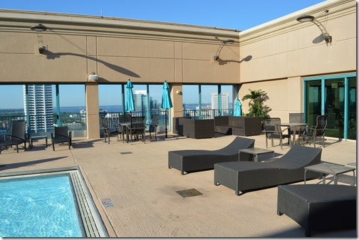 Hyatt pool deck
