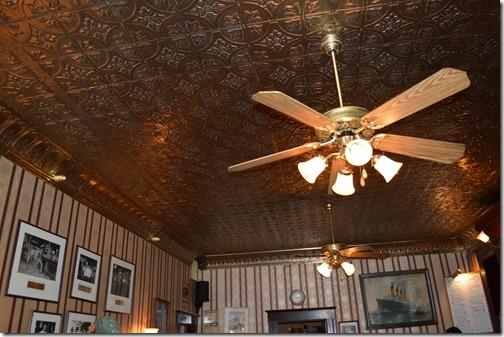 Saloon ceiling
