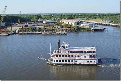 Savannah River paddle boat