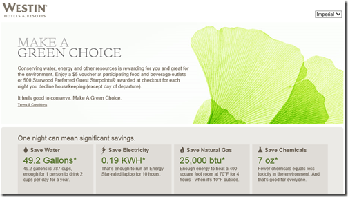 Westin Green Choice