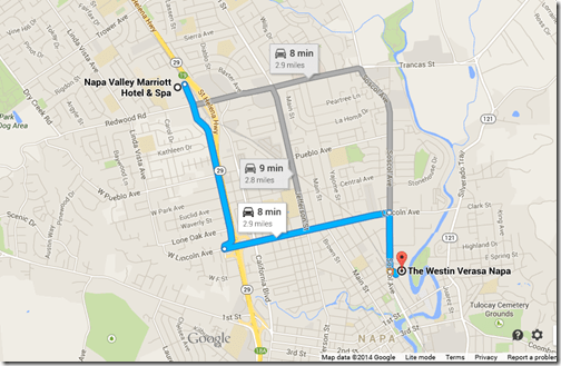 Napa Google Maps
