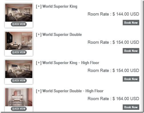 SLS Las Vegas rates