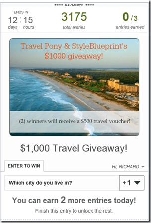 TravelPony giveaway