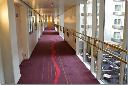 Clarion Christiania hallway
