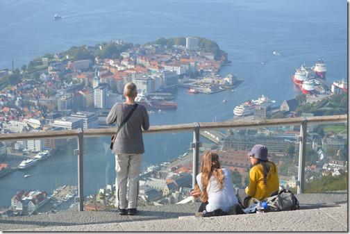 Floyen city view