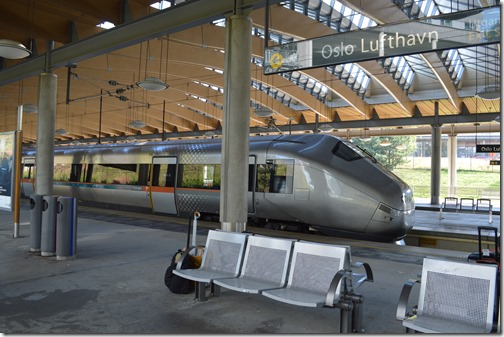 Flytoget Oslo Airport Express Train
