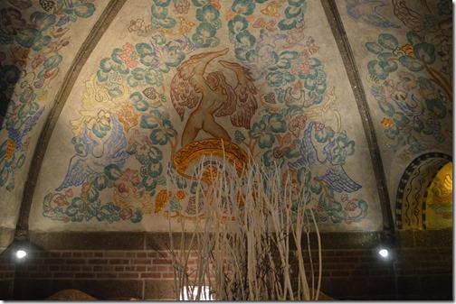 Havnekontoret Ceiling mural