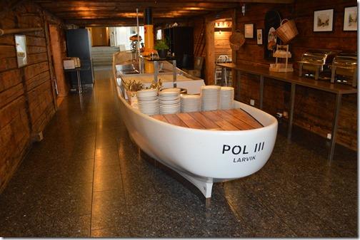 Hotel Atlantic Breakfast boat
