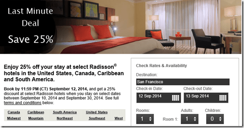 Radisson 25percent Sep 12