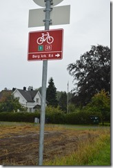 cycling path signage