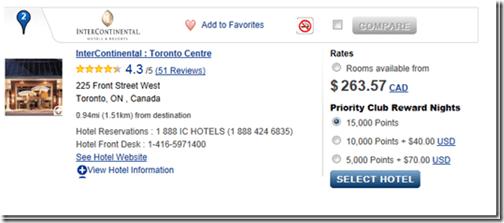 IC Toronto Centre IHG15K mistake