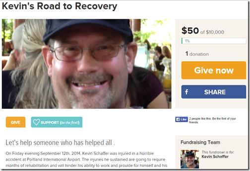 Kevin Schaffer fundraiser