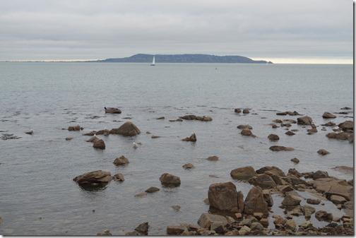 Dun Laoghaire promenade view
