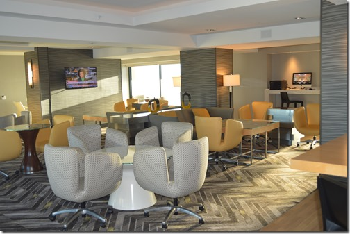 Grand Hyatt lounge