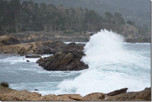 Point Lobos crash wave