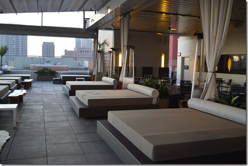 Rooftop 600 dining