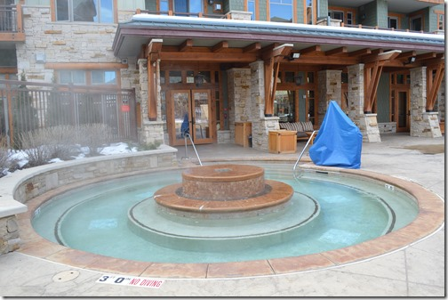 Hyatt hot tub