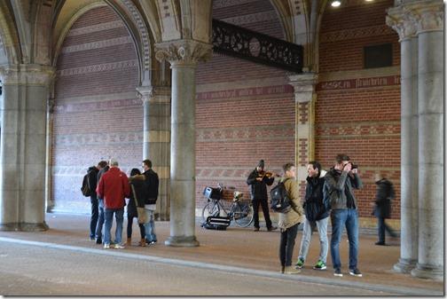 Rijksmuseum busker