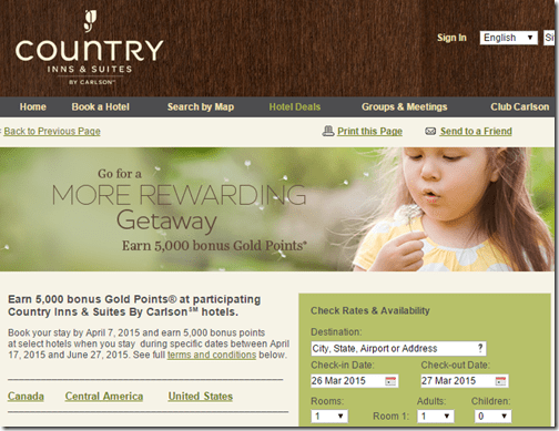 Country Inn 5k spring bonus