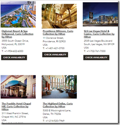 Curio Collection hotels