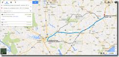 Google Maps Columbia SC-Lumberton NC 134 m